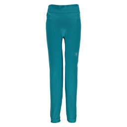 Spyder Crest Boxed Girls Long Underwear Bottom, Bluebird-White, 256