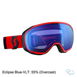 Scott Fix Goggles, Fluorescent Red-Eclipse Blue-I, 256
