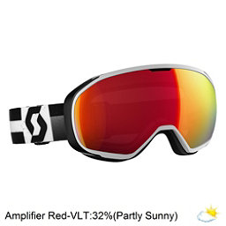 Scott Fix Goggles, White-Black-Amplifier Red Chro, 256