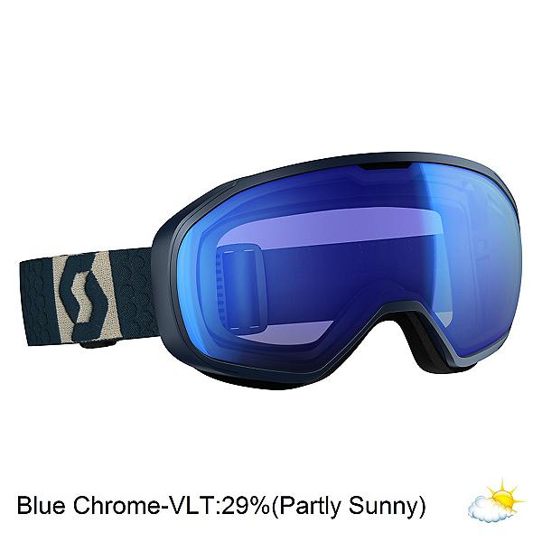 Scott Fix Goggles, Eclipse Blue-Grey-Blue Chrome, 600
