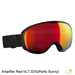 Scott Fix Goggles, Black-Amplifier Red Chrome, 256