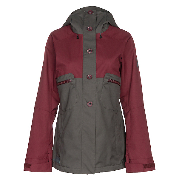 Dakine Northlands Womens Shell Ski Jacket, Shadow-Rosewood, 600