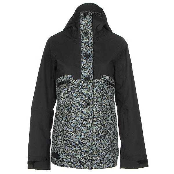 Dakine Northlands Womens Shell Ski Jacket, Black-Ripley, 600