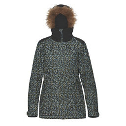 Dakine Lowell w/Faux Fur Womens Insulated Ski Jacket, Ripley, 256