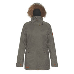 Dakine Brentwood w/Faux Fur Womens Insulated Ski Jacket, Jungle, 256