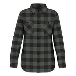 Dakine Canterbury Womens Flannel Shirt, Pine-Black, 256