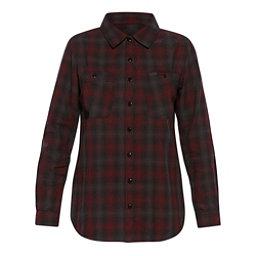 Dakine Canterbury Womens Flannel Shirt, Shadow-Rosewood, 256