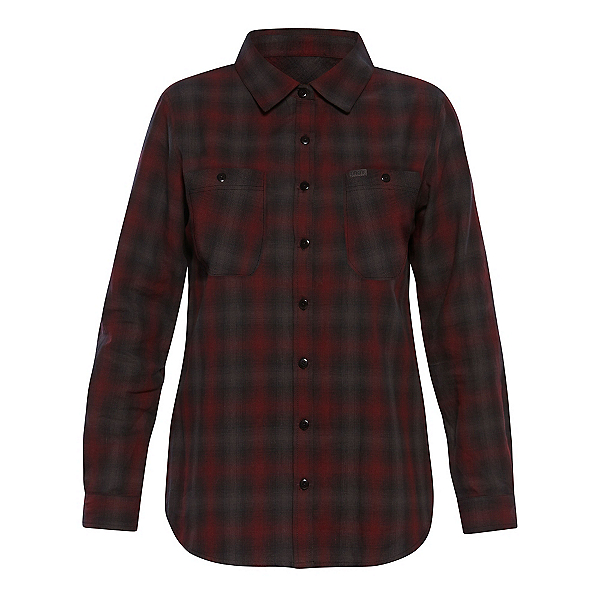 Dakine Canterbury Womens Flannel Shirt, Shadow-Rosewood, 600