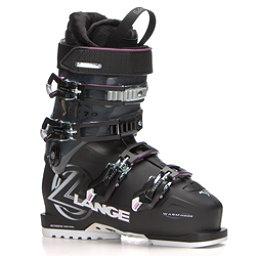 Lange XC 70 W Womens Ski Boots, Black-Magenta, 256