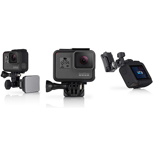 GoPro Helmet Front and Side Mount 2018, AHFSM-001, 600