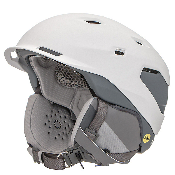 Smith Quantum MIPS Helmet 2021, Matte White Charcoal, 600