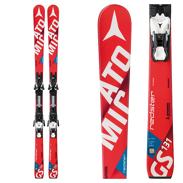 Atomic Redster FIS GS Jr. L Junior Race Skis with XTL 10 Bindings, , 600