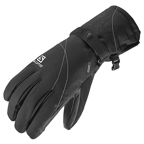 Salomon Propeller Dry Womens Gloves, Black, 600