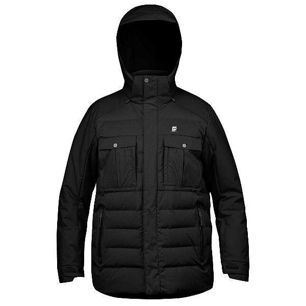 Orage Momentum Mens Insulated Ski Jacket, Black, 600