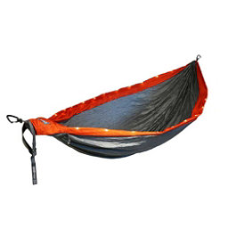 ENO DoubleNest LED Hammock 2017, Orange-Grey, 256