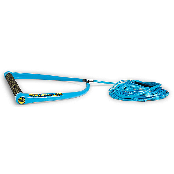 Straight Line Apex Suede with Dyneema Wakeboard Rope, Blue, 600