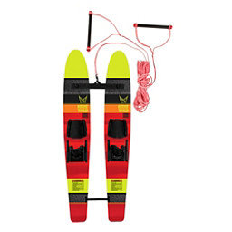 HO Sports Hot Shot Trainers Junior Combo Water Skis With Standard Bindings 2018, , 256