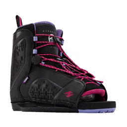 Hyperlite Jinx Womens Wakeboard Bindings 2017, Black-Purple, 256