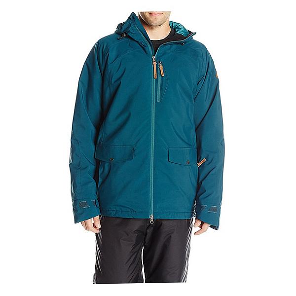 O'Neill Tempest Mens Insulated Snowboard Jacket, Night Ocean, 600
