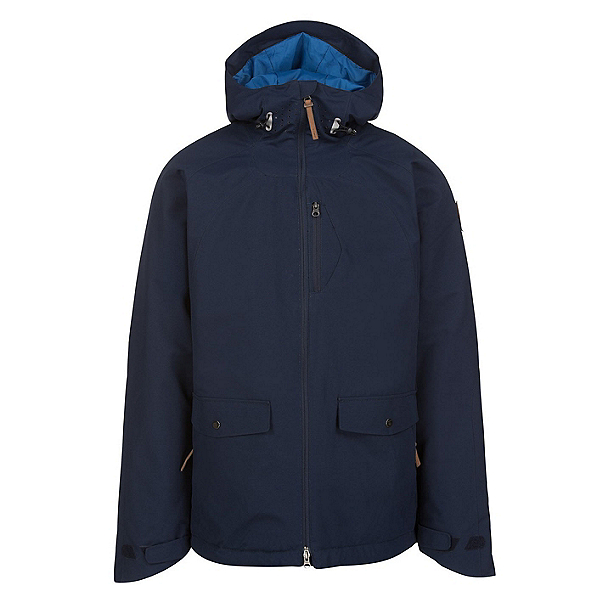 O'Neill Tempest Mens Insulated Snowboard Jacket, Ink Blue, 600