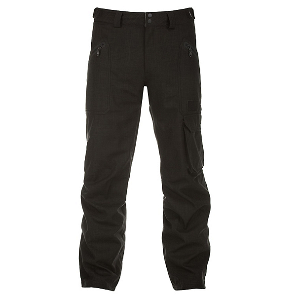 O'Neill Construct Mens Snowboard Pants, Black Out, 600