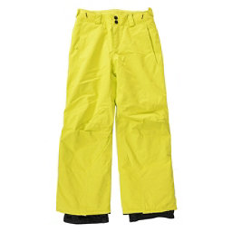 O'Neill Anvil Kids Snowboard Pants, Poison Yellow, 256