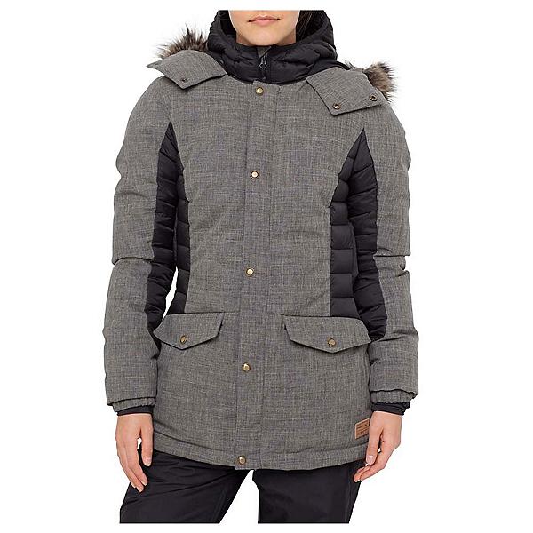 O'Neill Feline Womens Insulated Snowboard Jacket, Black Out, 600