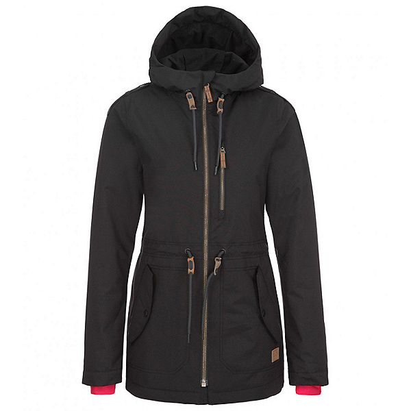 O'Neill Eyeline Womens Insulated Snowboard Jacket, Black Out, 600