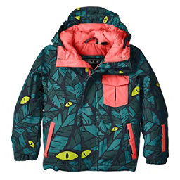 O'Neill Prince Toddler Ski Jacket, Green Aop-Blue, 256