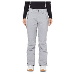 O'Neill Glamour Womens Snowboard Pants, Silver Melee, 256