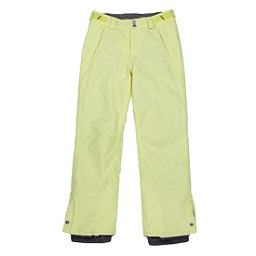 O'Neill Carat Girls Snowboard Pants, Sunny Lime, 256