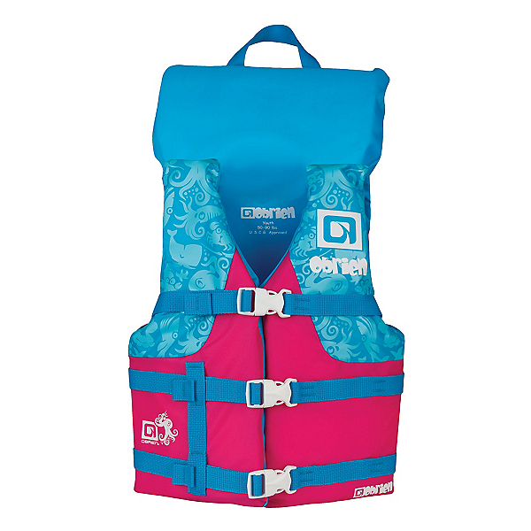 O'Brien Youth Nylon with Collar Junior Life Vest 2019, Pink, 600