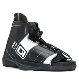 O'Brien Clutch Wakeboard Bindings 2017, Black-White, 256