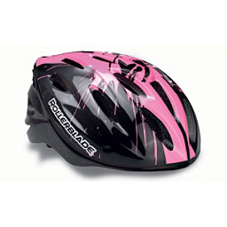 Rollerblade Workout Girls Kids Fitness Helmet 2017, Black-Pink, 256