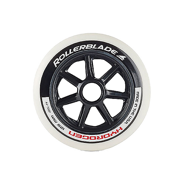 Rollerblade Hydrogen 125mm 85A Inline Skate Wheels - 6 Pack 2020, , 600