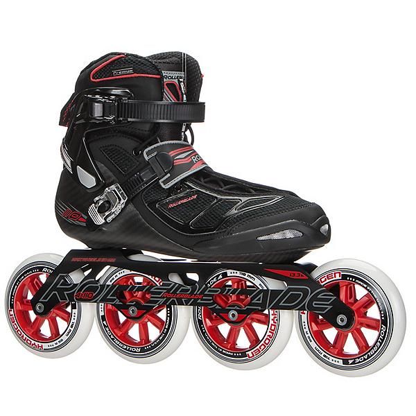 Rollerblade Tempest 110 C Inline Skates, Black-Red, 600