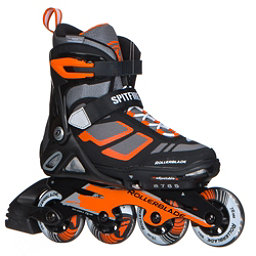 Rollerblade Spitfire LX ALU Adjustable Kids Inline Skates 2018, Black-Orange, 256