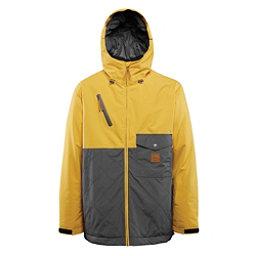 ThirtyTwo Holcomb Mens Insulated Snowboard Jacket, Yellow, 256