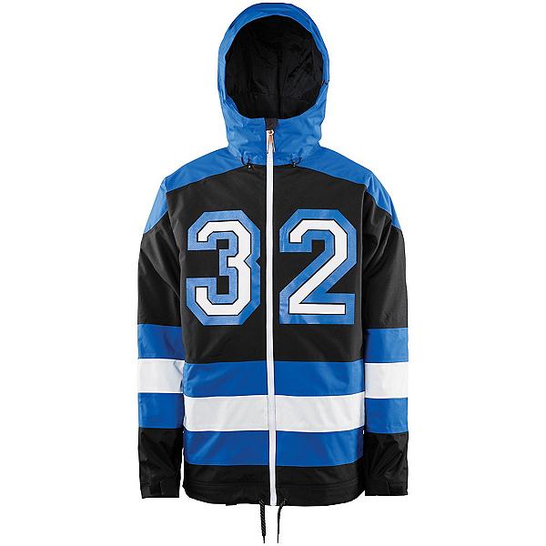 ThirtyTwo Batch Mens Shell Snowboard Jacket, Enamel Blue, 600