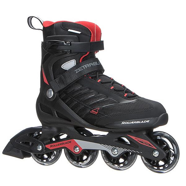 Rollerblade Zetrablade Inline Skates 2018, Black-Red, 600