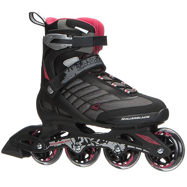 Rollerblade Zetrablade Womens Inline Skates, Black-Red, 600