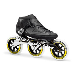 Rollerblade Powerblade 125 3WD 2018, Black-White, 256