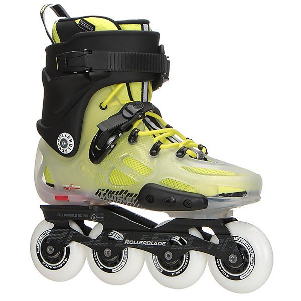 Rollerblade Twister X Urban Inline Skates, Translucent-Fluorescent Yellow, 600