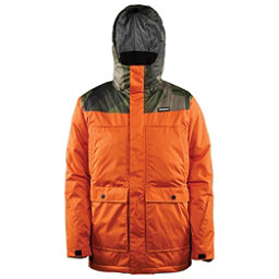 ThirtyTwo Truman Mens Insulated Snowboard Jacket, Burnt Orange, 256