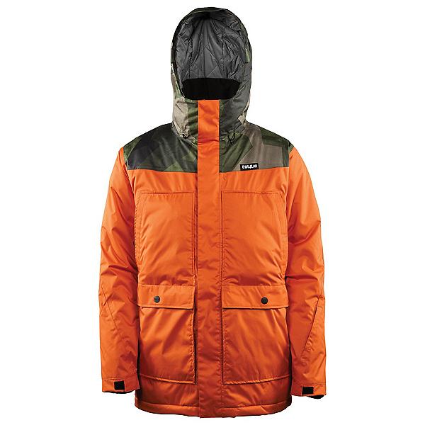 ThirtyTwo Truman Mens Insulated Snowboard Jacket, Burnt Orange, 600