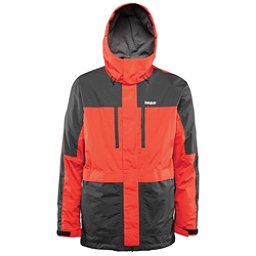 ThirtyTwo Blythe Mens Shell Snowboard Jacket, Tangerine, 256