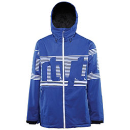 ThirtyTwo Lowdown Mens Shell Snowboard Jacket, Blue, 256