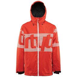 ThirtyTwo Lowdown Mens Shell Snowboard Jacket, Tangerine, 256