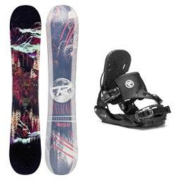 Rossignol Angus MagTek Five Hybrid Snowboard and Binding Package, , 256