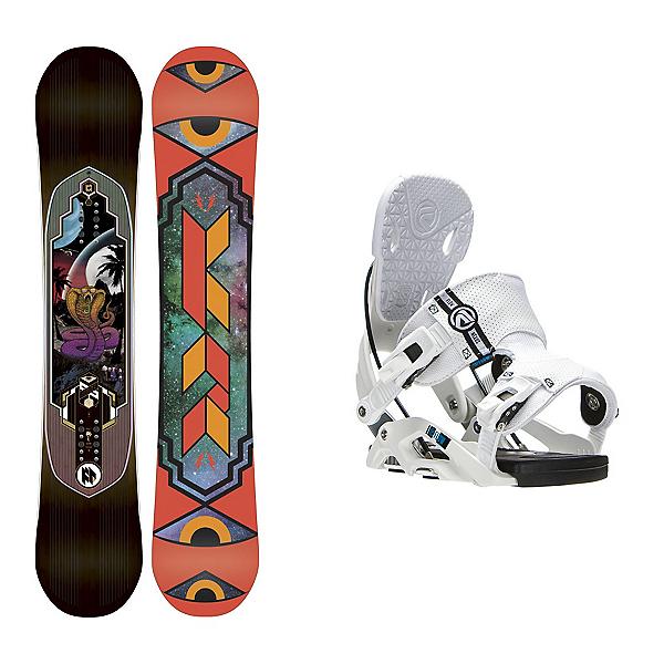 K2 Fastplant Nexus Snowboard and Binding Package, , 600